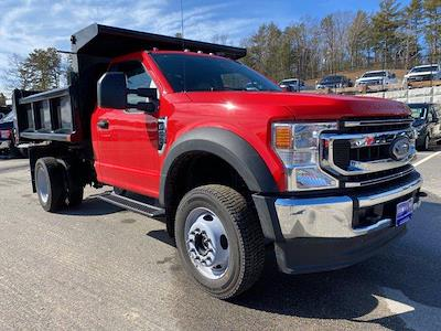 2021 Ford F-550 Regular Cab DRW 4x4, Air-Flo Pro-Class Dump Body #N9858 - photo 23