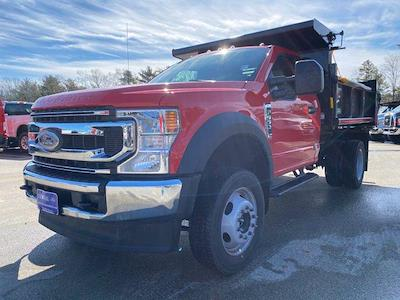 2021 Ford F-550 Regular Cab DRW 4x4, Air-Flo Pro-Class Dump Body #N9858 - photo 3