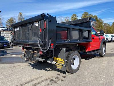 2021 Ford F-550 Regular Cab DRW 4x4, Air-Flo Pro-Class Dump Body #N9858 - photo 6