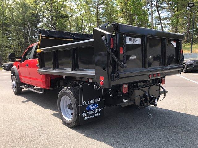 2021 Ford F-550 Crew Cab DRW 4x4, Air-Flo Dump Body #N9860 - photo 1