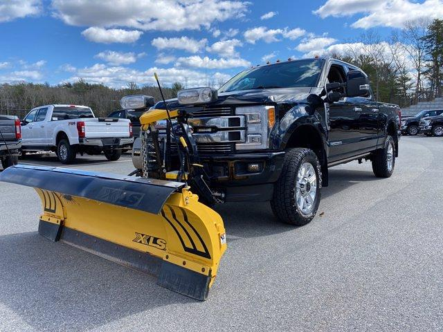2018 Ford F-350 Crew Cab 4x4, Fisher Snowplow Pickup #N9891A - photo 1