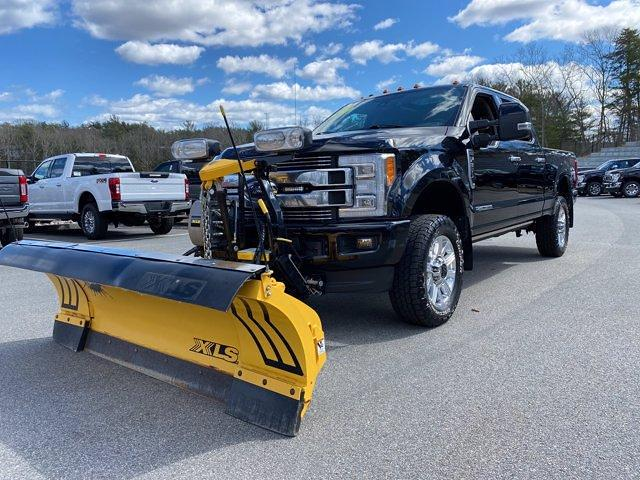 2018 Ford F-350 Crew Cab 4x4, Fisher Snowplow Pickup #N9891A - photo 3