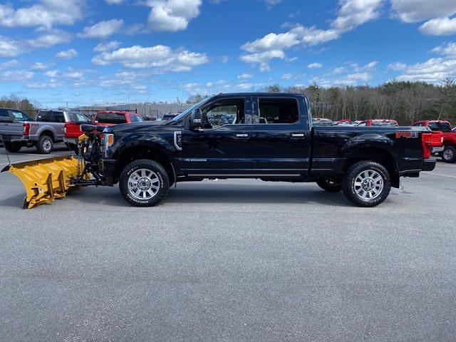 2018 Ford F-350 Crew Cab 4x4, Fisher Snowplow Pickup #N9891A - photo 4