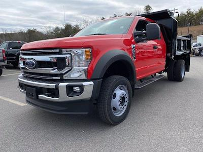 2021 Ford F-550 Super Cab DRW 4x4, Crysteel E-Tipper Dump Body #N9906 - photo 1