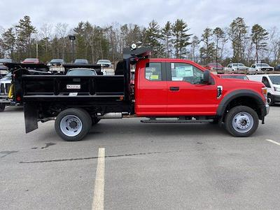 2021 Ford F-550 Super Cab DRW 4x4, Crysteel E-Tipper Dump Body #N9906 - photo 7