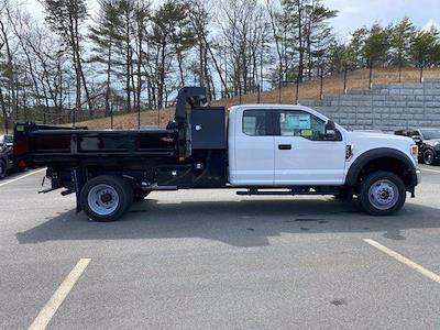 2021 Ford F-550 Super Cab DRW 4x4, Rugby Eliminator LP Steel Dump Body #N9919 - photo 7