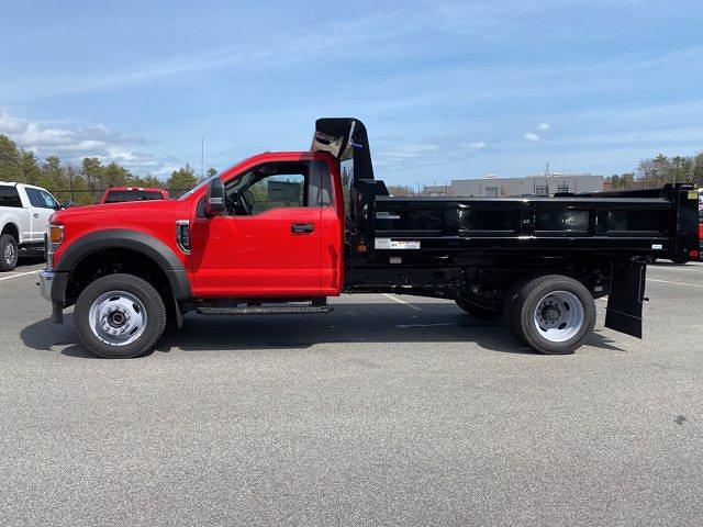 2020 Ford F-550 Regular Cab DRW 4x4, Rugby Eliminator LP Steel Dump Body #N9933 - photo 4