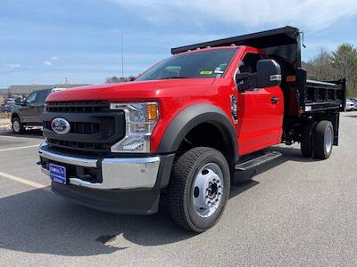 2020 Ford F-550 Regular Cab DRW 4x4, Rugby Eliminator LP Steel Dump Body #N9933 - photo 3