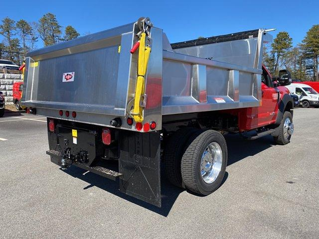 2021 Ford F-550 Regular Cab DRW 4x4, Iroquois Brave Series Stainless Steel Dump Body #N9940 - photo 6