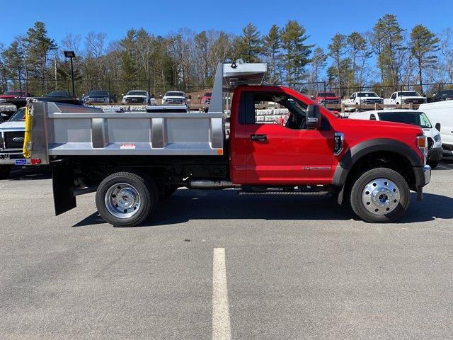 2021 Ford F-550 Regular Cab DRW 4x4, Iroquois Brave Series Stainless Steel Dump Body #N9940 - photo 7