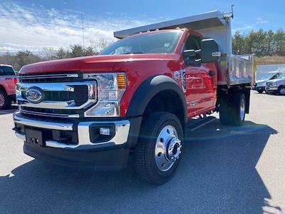 2021 Ford F-550 Regular Cab DRW 4x4, Iroquois Brave Series Stainless Steel Dump Body #N9940 - photo 3