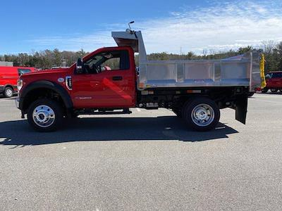 2021 Ford F-550 Regular Cab DRW 4x4, Iroquois Brave Series Stainless Steel Dump Body #N9940 - photo 4