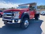 2021 Ford F-550 Regular Cab DRW 4x4, Iroquois Brave Series Stainless Steel Dump Body #N9940 - photo 1