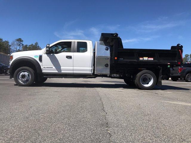 2021 Ford F-550 Super Cab DRW 4x4, Dump Body #N9975 - photo 4