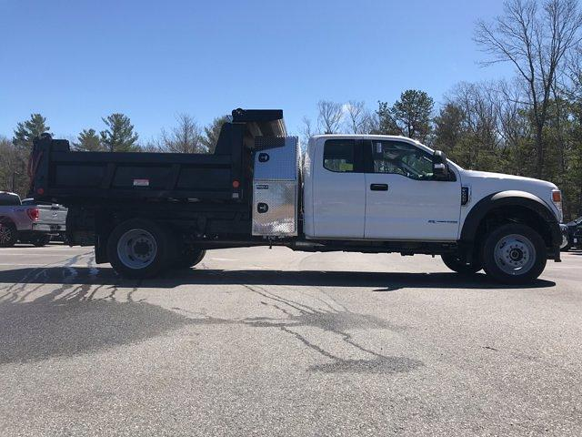 2021 Ford F-550 Super Cab DRW 4x4, Dump Body #N9975 - photo 7