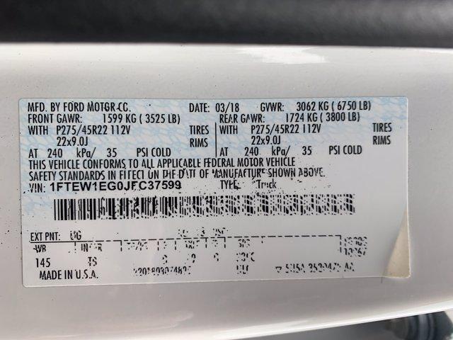 2018 Ford F-150 SuperCrew Cab 4x4, Pickup #P7226 - photo 36