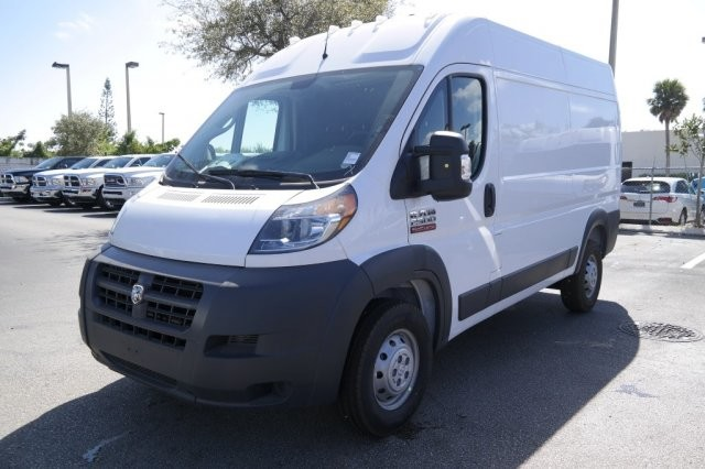 2018 ProMaster 2500 High Roof 4x2,  Empty Cargo Van #18PM108674 - photo 3