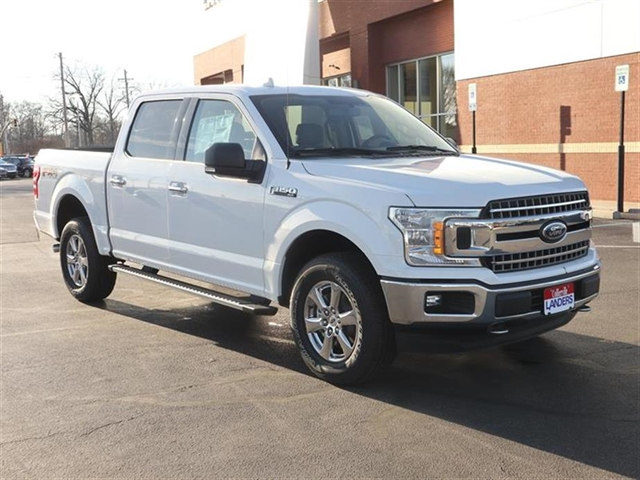 2018 F-150 SuperCrew Cab 4x4,  Pickup #18T0434 - photo 3