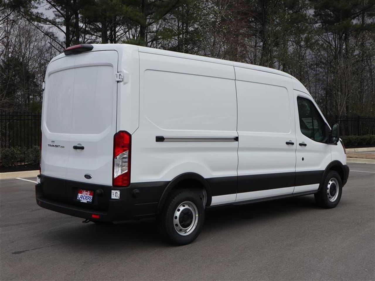 2019 Transit 250 Med Roof 4x2,  Empty Cargo Van #19T0511 - photo 4