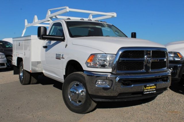 2017 Ram 3500 Regular Cab DRW 4x2,  Scelzi Service Body #28096D - photo 1