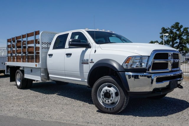 2018 Ram 5500 Crew Cab DRW 4x2, Scelzi Stake Bed #54968D - photo 1