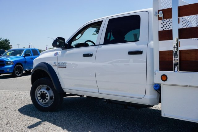 2018 Ram 5500 Crew Cab DRW 4x2,  Scelzi WFB Stake Bed #54968D - photo 6