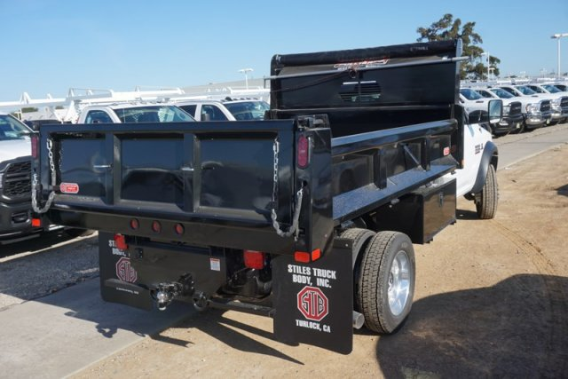 2018 Ram 5500 Regular Cab DRW 4x2,  Scelzi Dump Body #54969D - photo 1