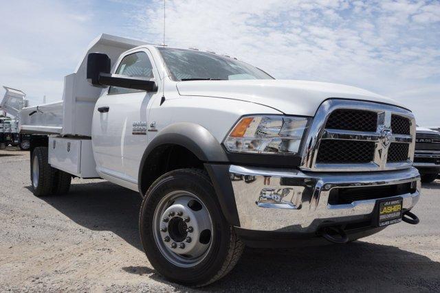 2018 Ram 5500 Regular Cab DRW 4x4,  Enoven Truck Body & Equipment Dump Body #55926D - photo 1