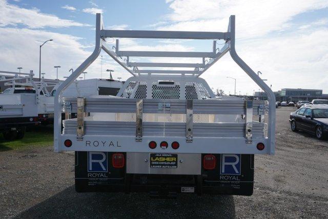 2018 Ram 3500 Crew Cab DRW 4x2,  Royal Contractor Body #56208D - photo 4