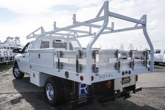 2018 Ram 3500 Crew Cab DRW 4x2,  Royal Contractor Body #56208D - photo 1