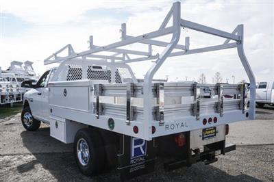 2018 Ram 3500 Crew Cab DRW 4x2,  Royal Contractor Body #56208D - photo 2
