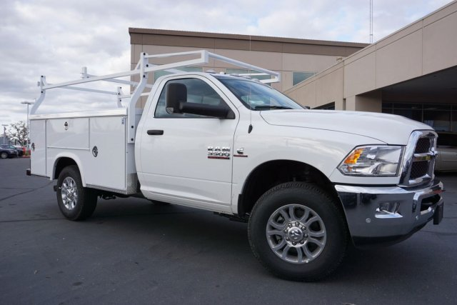 2018 Ram 3500 Regular Cab 4x4,  Royal Service Body #56228D - photo 3