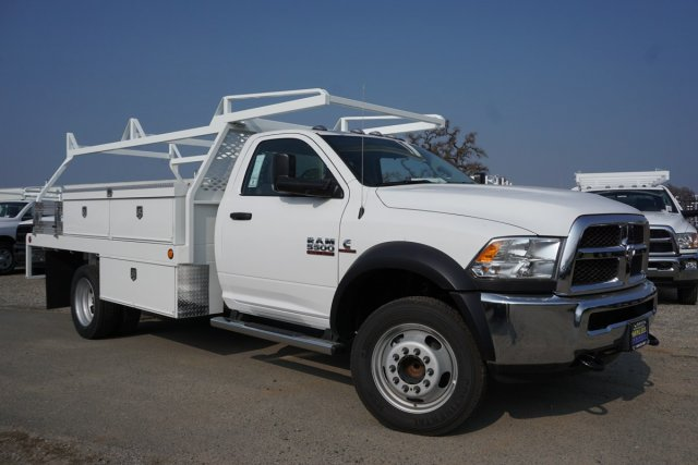2018 Ram 5500 Regular Cab DRW 4x2,  Scelzi CTFB Contractor Body #56229D - photo 3