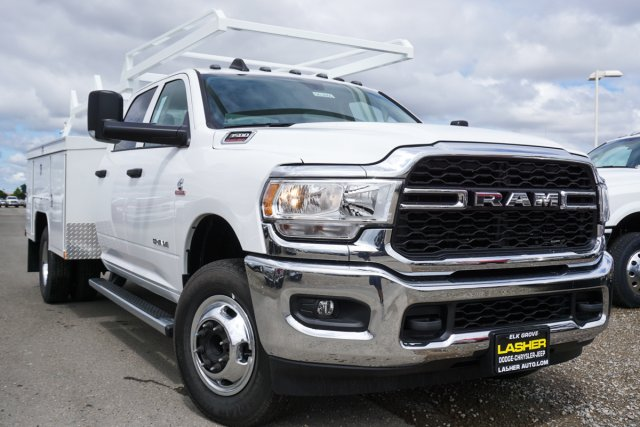 2019 Ram 3500 Crew Cab DRW 4x2, Scelzi Service Body #56386D - photo 1