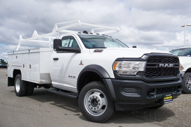 2019 Ram 4500 Regular Cab DRW 4x2, Scelzi Service Body #56586D - photo 1