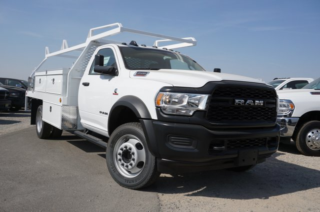 2019 Ram 4500 Regular Cab DRW 4x2,  Scelzi Contractor Body #56717D - photo 1