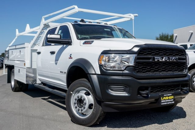 2019 Ram 4500 Crew Cab DRW 4x2,  Scelzi Contractor Body #56903D - photo 1
