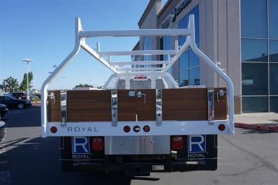 2018 Ram 3500 Regular Cab DRW 4x2,  Royal Contractor Body #57252D - photo 4