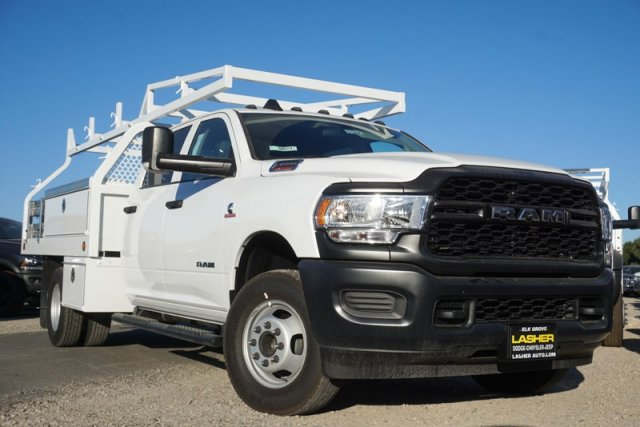 2019 Ram 3500 Crew Cab DRW 4x4,  Royal Contractor Body #57260D - photo 1