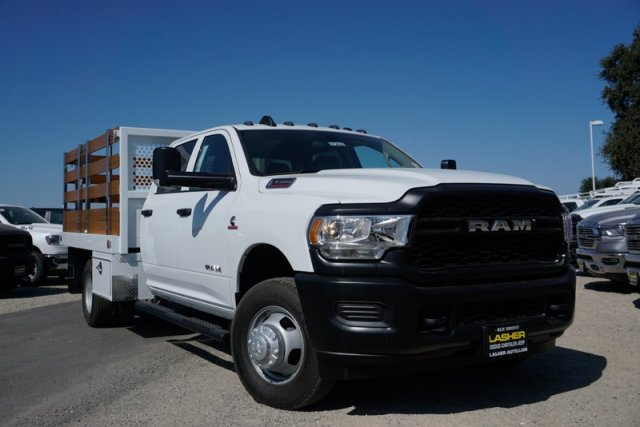 2019 Ram 3500 Crew Cab DRW 4x2,  Royal Stake Bed #57263D - photo 3
