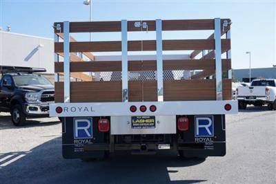 2019 Ram 3500 Crew Cab DRW 4x2,  Royal Stake Bed #57263D - photo 7