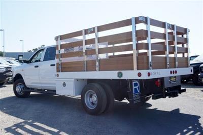2019 Ram 3500 Crew Cab DRW 4x2,  Royal Stake Bed #57263D - photo 2