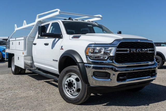 2019 Ram 4500 Crew Cab DRW 4x2, Scelzi Contractor Body #57264D - photo 1