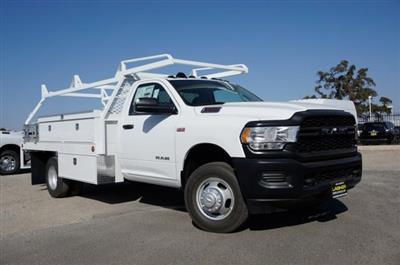 2019 Ram 3500 Regular Cab DRW 4x2, Scelzi CTFB Contractor Body #57267D - photo 3