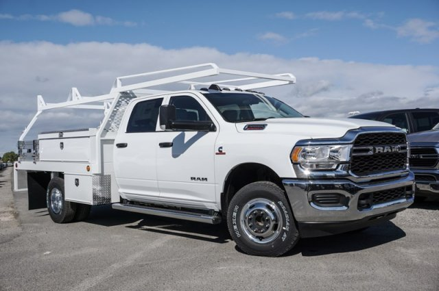 2019 Ram 3500 Crew Cab DRW 4x4, Scelzi CTFB Contractor Body #57284D - photo 1