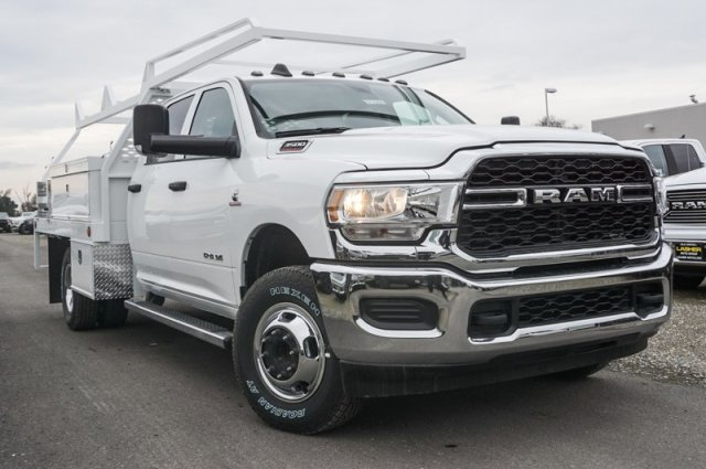 2019 Ram 3500 Crew Cab DRW 4x4, Scelzi Contractor Body #57325D - photo 1