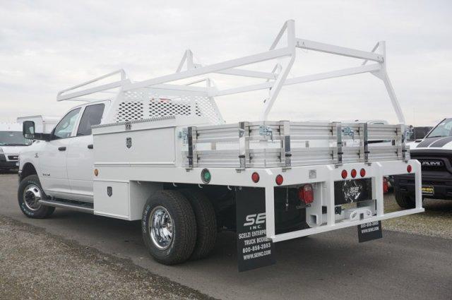 2019 Ram 3500 Crew Cab DRW 4x4, Scelzi CTFB Contractor Body #57325D - photo 2