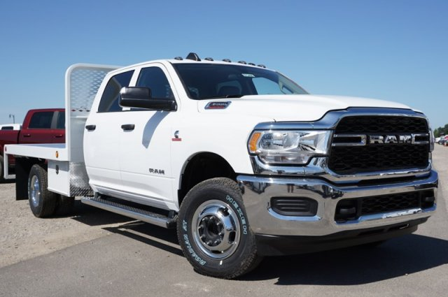 2020 Ram 3500 Crew Cab DRW 4x4, Scelzi WFB Platform Body #57349D - photo 1