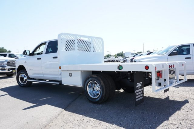 2020 Ram 3500 Crew Cab DRW 4x4, Scelzi Platform Body #57349D - photo 1