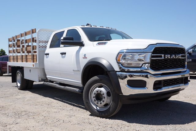 2020 Ram 5500 Crew Cab DRW 4x4, Stake Bed #57352D - photo 1